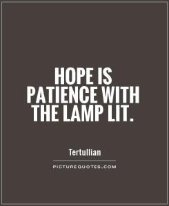 hope-is-patience-with-the-lamp-lit-quote-1